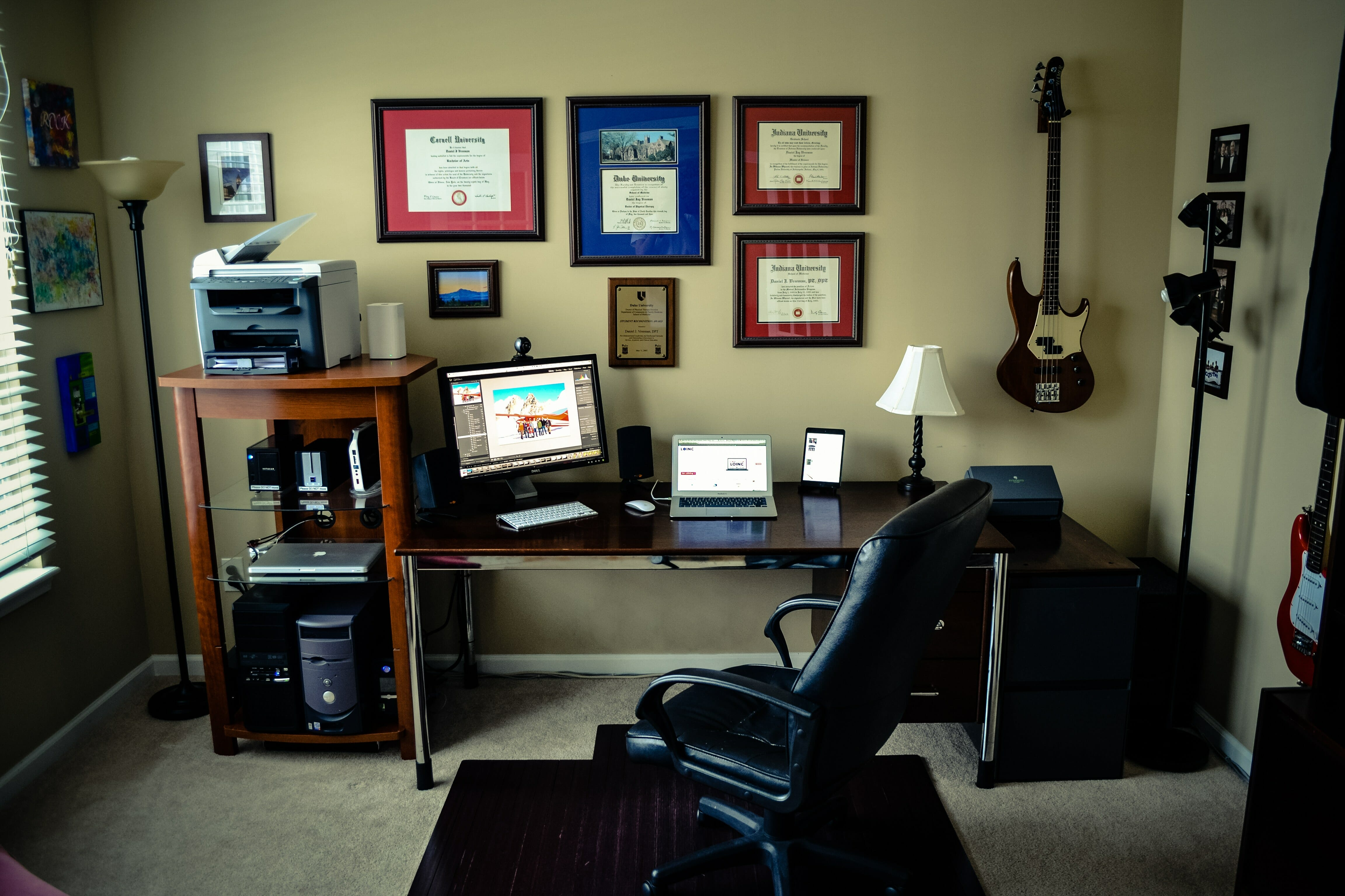 Home Office Completely Re Wired.