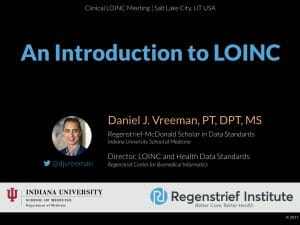 An Introduction to LOINC: Clinical LOINC Version