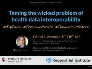 Taming the Wicked Problem of Health Data Interoperability