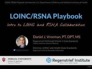 LOINC/RSNA Playbook: Overview for DoD and NIH